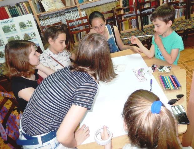 Коллективное творчество в библиотеке